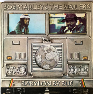 Bob Marley & The Wailers ‎- Babylon By Bus (LP) (G-VG/G++)